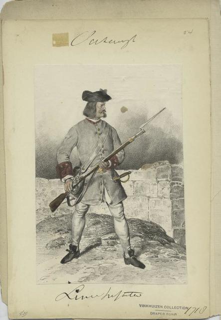 Linien Infanterie, 1718