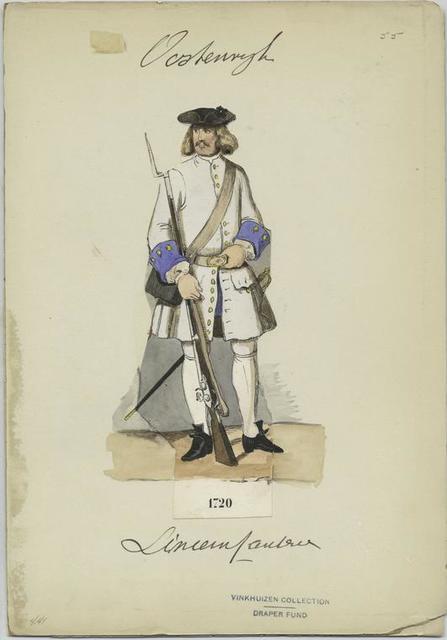 Linien Infanterie, 1720