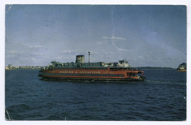 Marine & Aviation Ferry Boat [ferry in docking slip]
