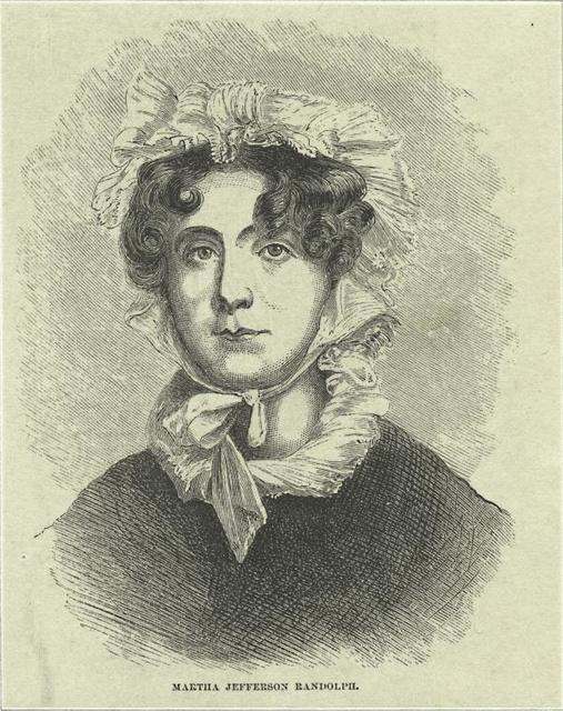 Martha Jefferson Randolph.
