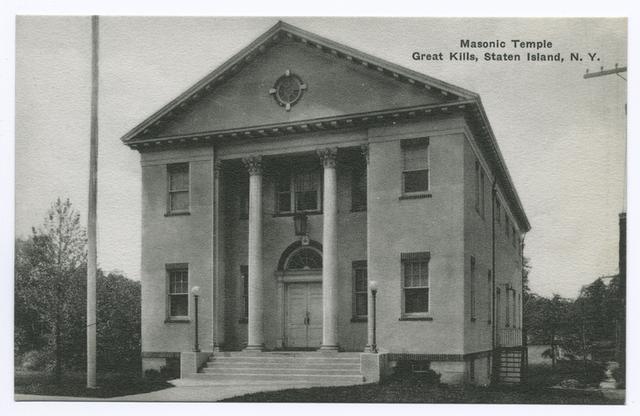 Masonic Temple Great Kills, Staten Island, N.Y.