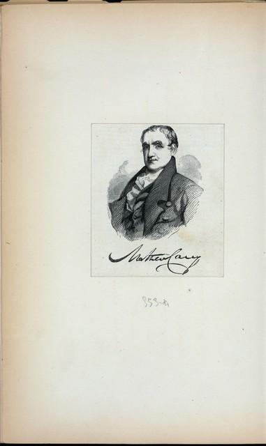 Mathew Carey.