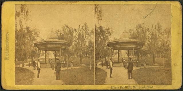 Music Pavillion, Patterson Park.