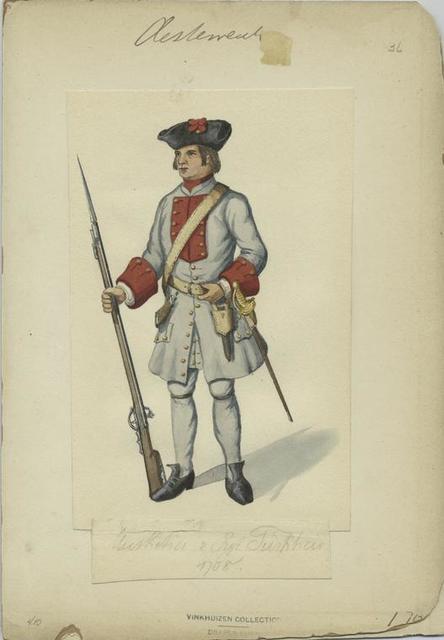 Musketier v. Rgt. Turkheir [?]