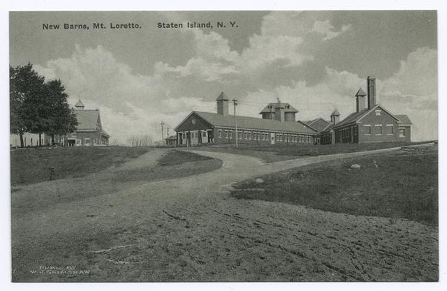New Barns, Mt. Loretto, Staten Island, N.Y.