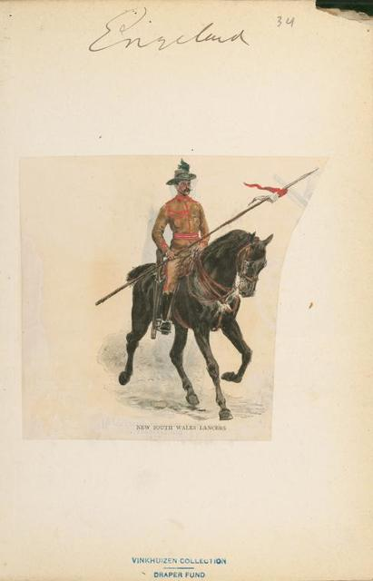 New South Wales Lancers.