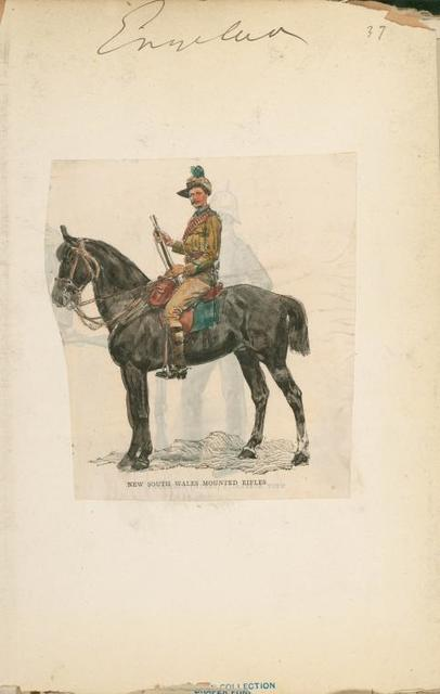 New South Wales Mounted Rifles.