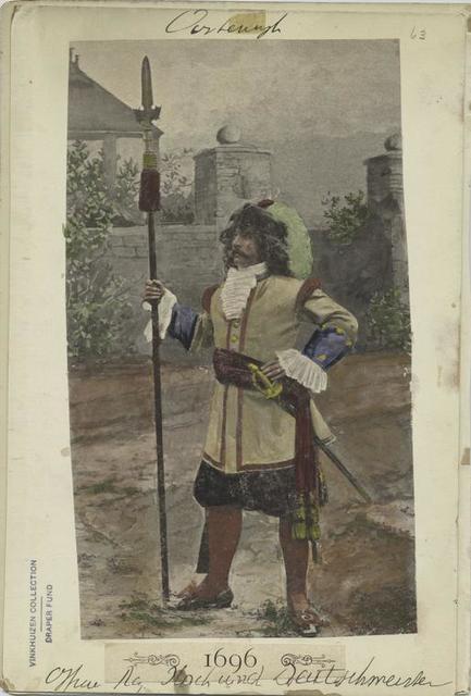 Officer Reg. Hoch- und Deutschmeister. 1696