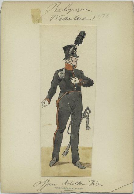 Officier artillerie tren.