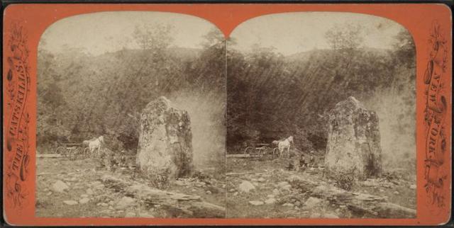 Picnic Rock, Stony Clove.