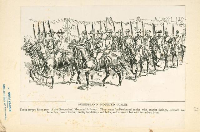 Queenland Mounted Rifles.