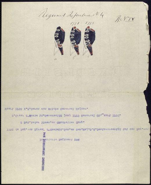 Regiment Infanterie N.4 (R.N.IV).