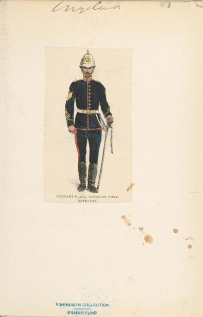 Sergeant-Major, Canadian Field Artillery.