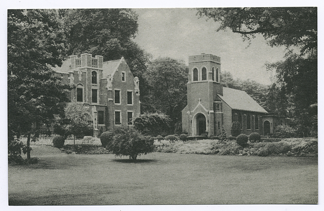 Shealy Memorial Hall and Chapel at America's First Retreat House Mount Manresa, Staten Island 5, N.Y.