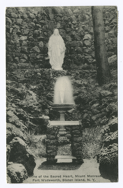 Shrine of the Sacred Heart, Mount Manresa, Fort Wadsworth, Staten Island, N.Y.