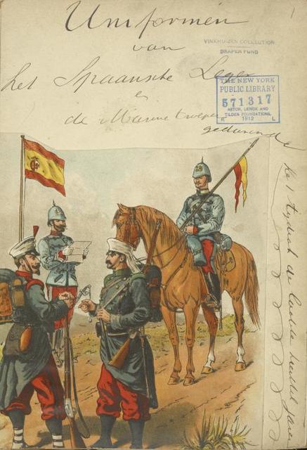 Spain, 1891-1896.