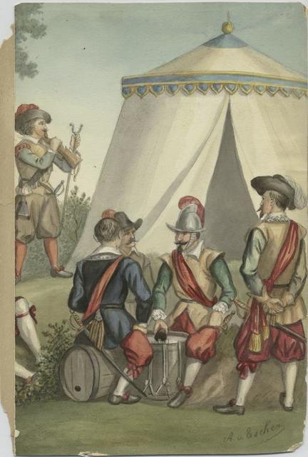 Spielleute der Infanterie