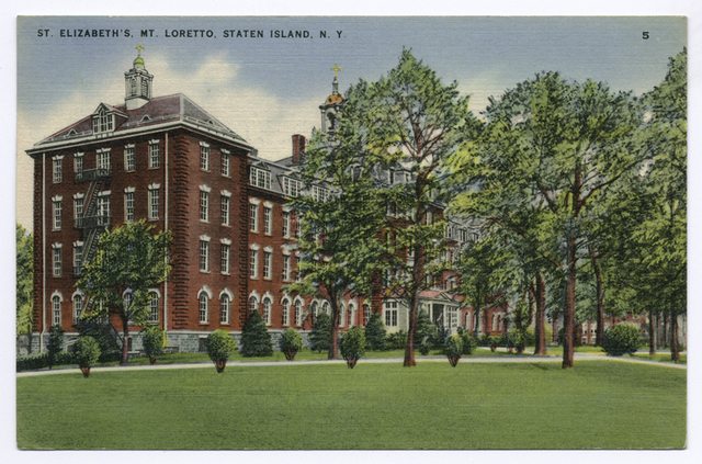 St. Elizabeth's, Mt. Loretto, Staten Island, N.Y.