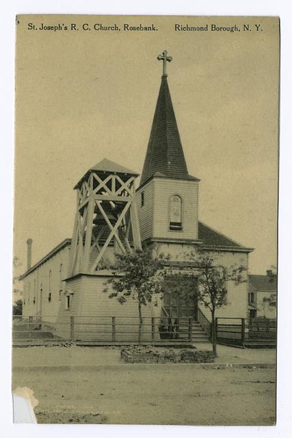 St. Joseph's R.C. Church, Rosebank, Richmond Borough, N.Y.