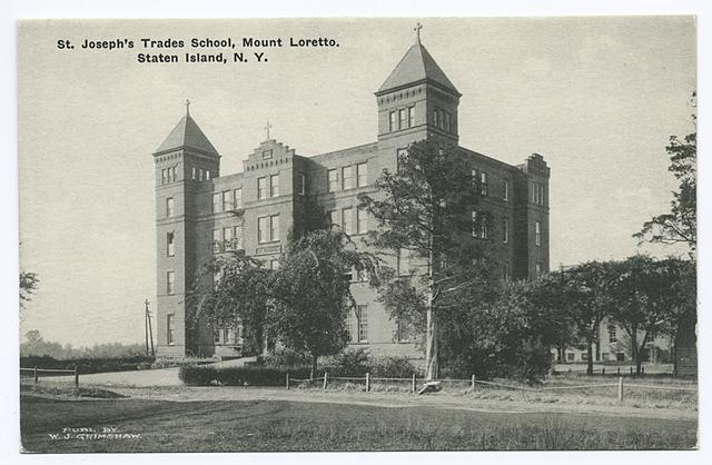 St. Joseph's Trades School, Mount Loretto, Staten Island, N.Y.