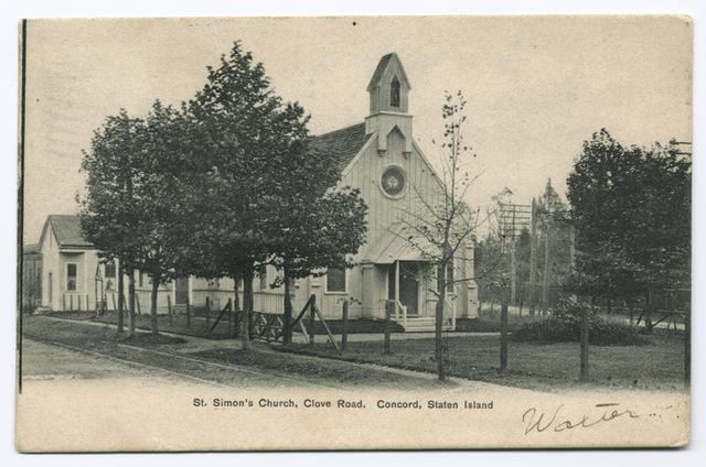 St. Simon's Church, Clove Road, Concord, Staten Island