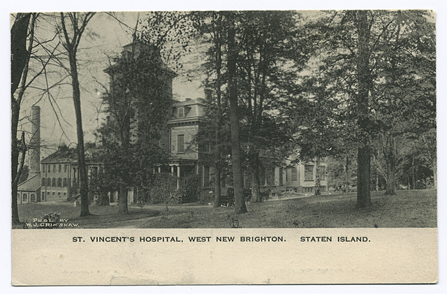 St. Vincent's Hospital, West New Brighton, Staten Island