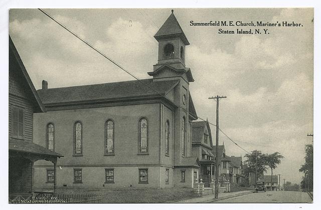 Summerfield M.E. Church, Mariner's Harbor, Staten Island, N.Y.