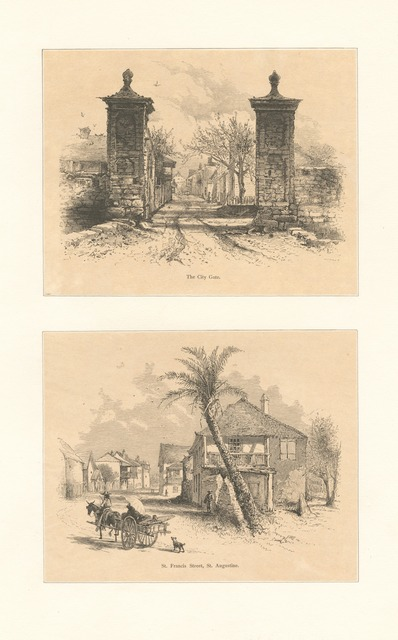 The city gate - St. Francis Street, St. Augustine