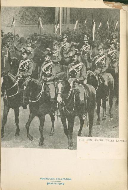 The New South Wales Lancers.