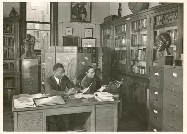 The Schomburg Collection of Negro Literature, Books by and about the Negro, Curator: Dr. Lawrence D. Reddick
