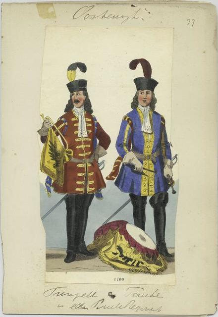 Trompeter [und] Pauker ..  1700