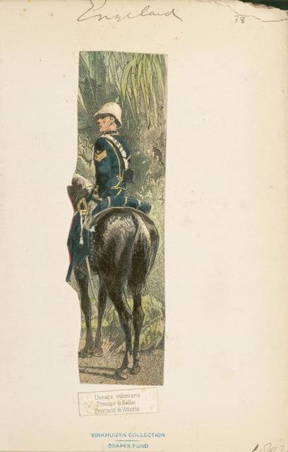 Ussars Voluntario, principa de Galles, Provincia de Vittoria.