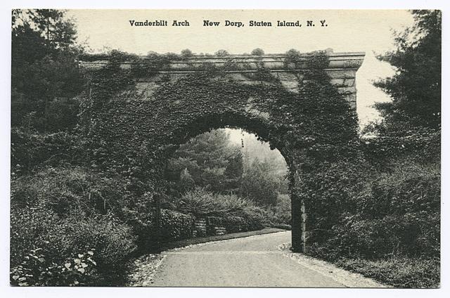 Vanderbilt Arch  New Dorp, Staten Island, N.Y.