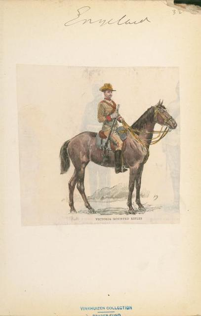 Victoria Mounted Rifles.
