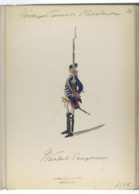 Waalsche Dragonders. 1765