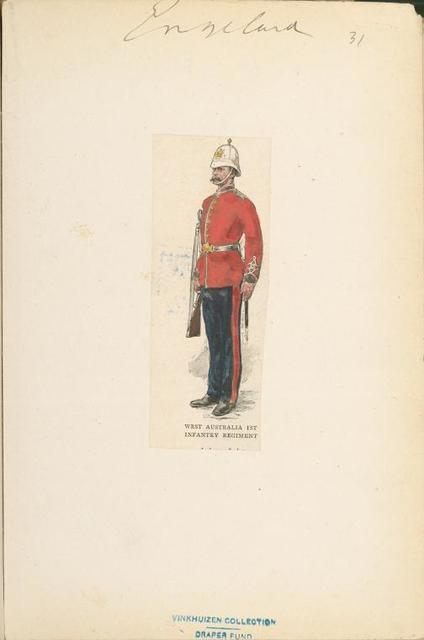 West Australia 1st Infantry Regiment.