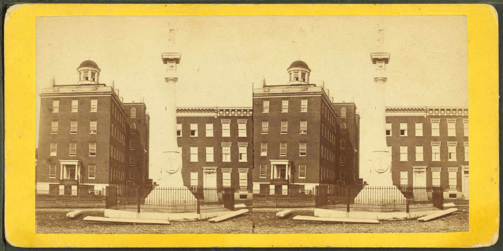 [Wildey's Old Fellows Monument.]
