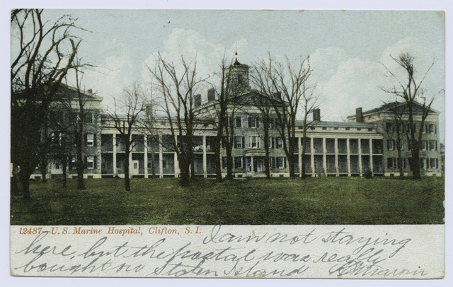 12487-U.S. Marine Hospital, Clifton, S.I.