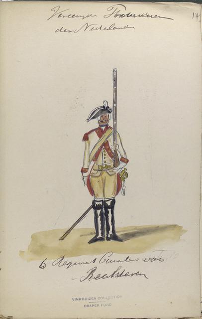 6 Regiment Cavalerie van Rechteren. 1775