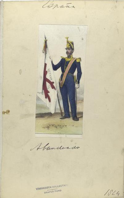 Abanderado. 1824