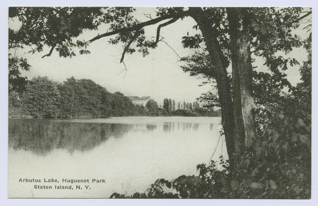 Arbutus Lake, Huguenot Park, Staten Island, N.Y.