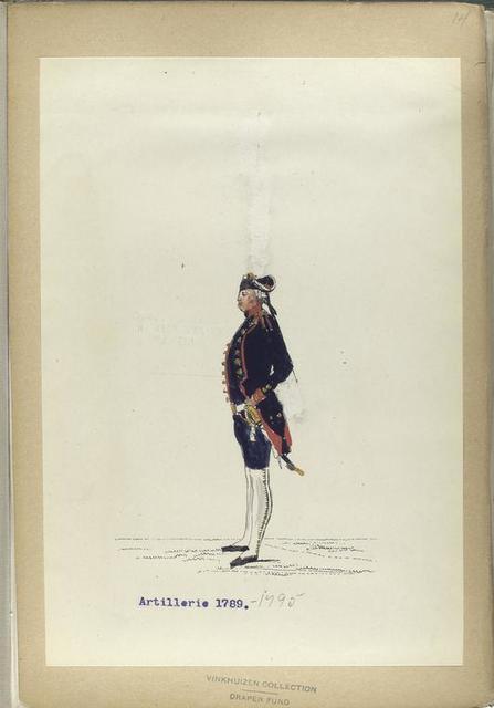 Artillerie. 1789-1795