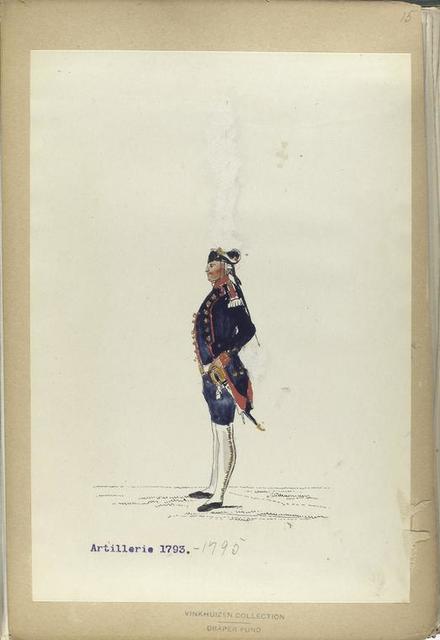 Artillerie. 1793-1795