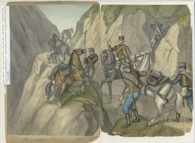 Artillerie Berg..