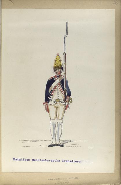 Bataillon Mecklenburgsche Grenadiers.