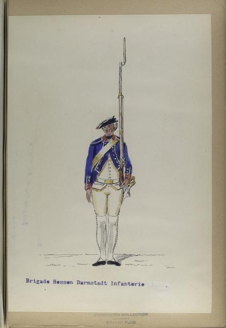 Brigade Hessen Darmstadt Infanterie.