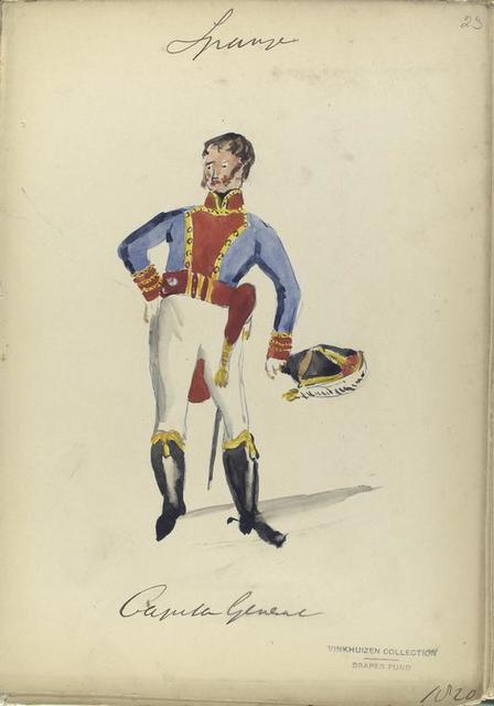 Capitan General. 1820