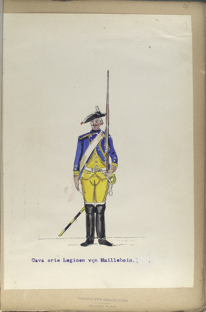 Cavalerie Legioen van Maillebois.