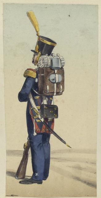 Cazador Provincial de la Guardia. 1830