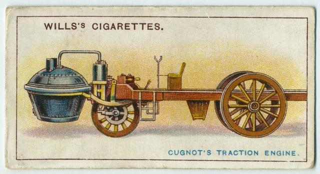 Cugnot's traction engine.